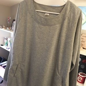 Sweaters - BRAND NEW Gray Sweatshirt with Pockets